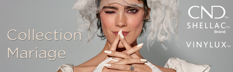Collection vernis permanent Shellac mariage 2019